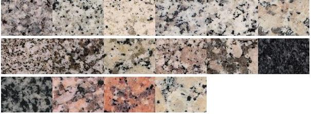 Productos marmoles la moderna - Encimeras de granito colores ...